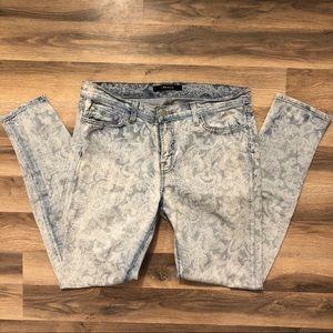 J Brand Paisley Light Wash Skinny Jeans